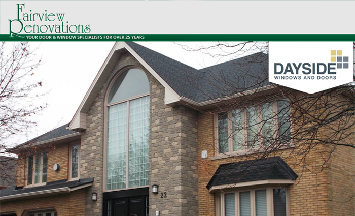 Dayside windows and doors dealer located in Burlington, Ontario