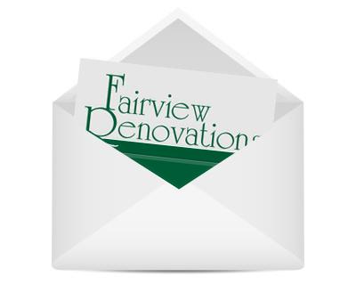 Fairview Renovations Newsletter